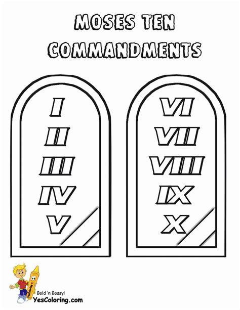 printable coloring pages ten commandments ten commandments coloring pages coloring home