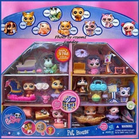 lps house with 9 pets littlest pet shop pinterest