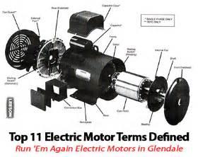 Electric Car Motor Parts Top Glendale Electric Motor Terms Defined Run Em Again