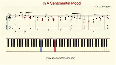tutorial piano in the mood how to play piano in a sentimental mood quot piano tutorial