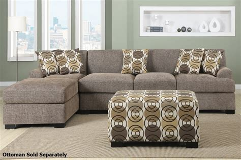 upholstery fabric montreal montreal iii beige fabric sectional sofa steal a sofa