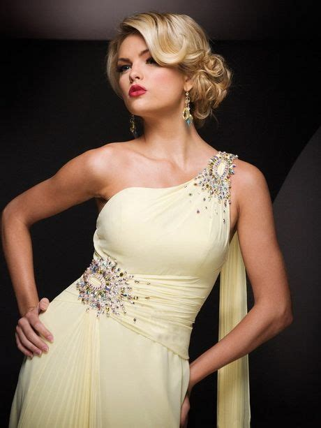prom hairstyles for one shoulder dresses wedding hair in