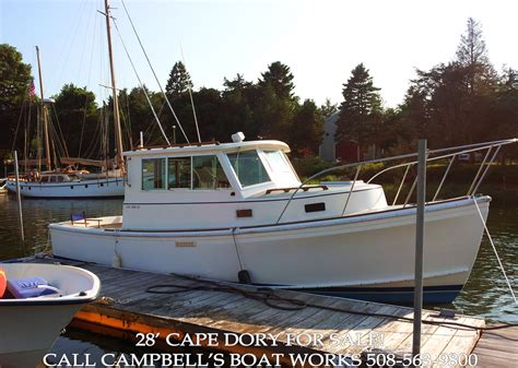 cape dory lobster boat 28 cape dory cbell s boat works inc