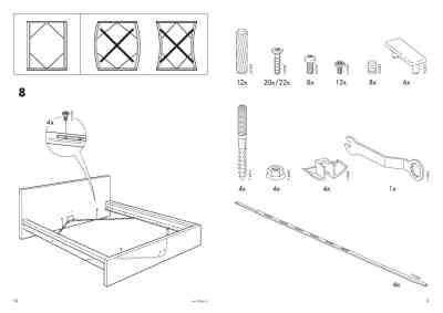 malm bed frame instructions ikea malm bed frame full double furniture download user