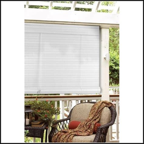 vinyl roll up patio blinds patios home decorating