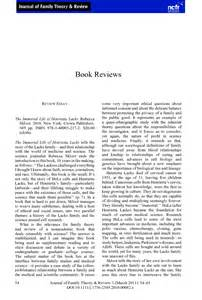 The Immortal Of Henrietta Lacks Essay by Review Essay The Immortal Of Henrietta Lacks Le Roux 2011 Journal Of Family Theory