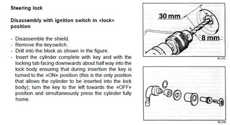 Key Switch Vespa Modern modern vespa vespa et2 stolen ignition switch damaged