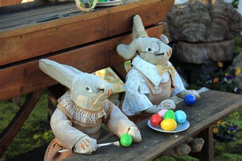 Ikea Vandring Hare Boneka Kelinci gambar patung mainan seni kelinci paskah taman gnome boneka rumput ornamen sekolah hare
