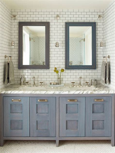 Blue Bathroom Vanity Cabinet Pretty Bathroom House Pinterest Grey Nooks And Mosaics