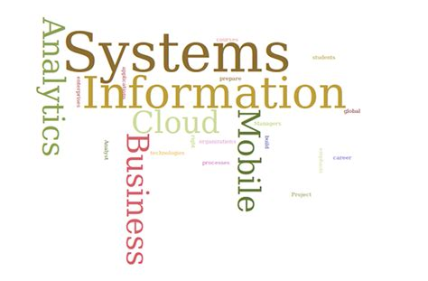 Business Information Systems Syllabus Mba by Graduate Program Information Systems San Francisco