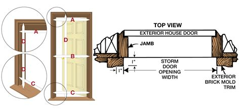 how to measure exterior door how to measure for a prehung door pre hung it s a thing