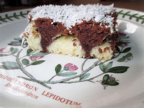 kuchen mit schokolade und kokos schokolade kokos kuchen ichzeigdirwiemanskocht