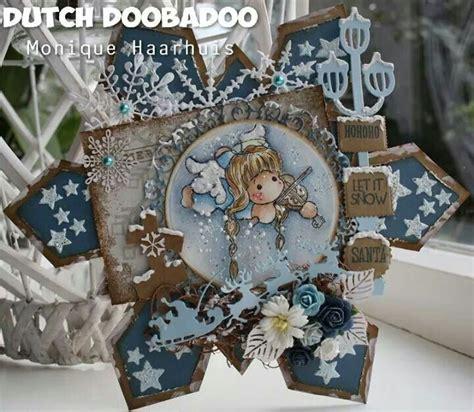 Nulu Nl 578 Wendy Dress doobadoo shape sneeuwvlok door kerst