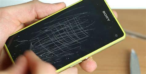 Iphone 7 Display Kratzer Polieren by Sony Xperia Z1 Compact Displayschutzfolie Ersetzen