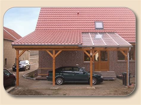 Carport Pultdach Selber Bauen Von Holzon De
