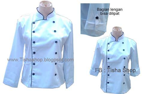 Baju Perawat Putih Lengan Pendek tisha shop baju profesi kostum profesi