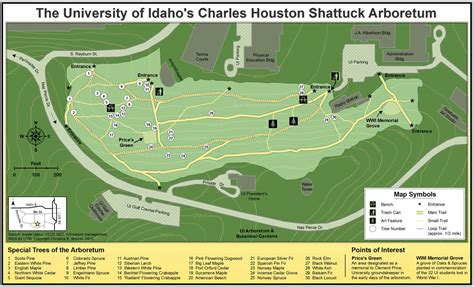 houston arboretum map charles houston shattuck arboretum