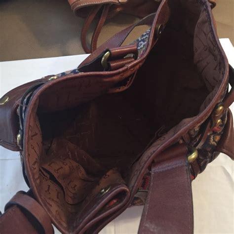Bag Fossil W6160 Sw 37 fossil handbags fossil southwest pattern satchel from angela s closet on poshmark