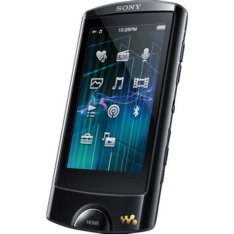 Sony As Series sony 16gb a series walkman mp3 player nwza865blk b h photo