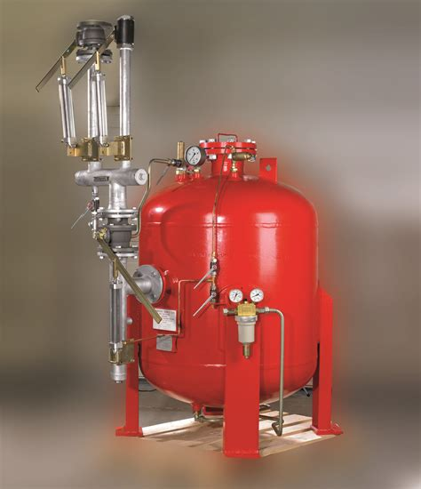 Safe Cabinet Powder Fire Fighting System Danfoss Semco