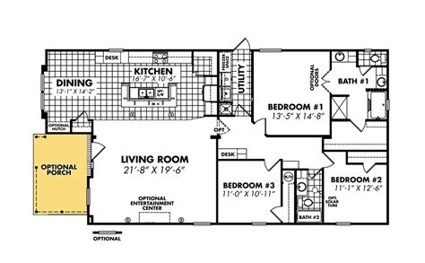 double wide floor plans with photos legacy housing double wides floor plans
