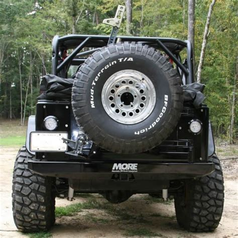 Jeep Tj Rear Tire Carrier Bumper Rear Bumper With Tire Carrier Tj More
