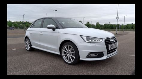 Audi A 1 Sportback by 2016 Audi A1 Sportback 1 4 Tfsi 125 S Line Start Up And
