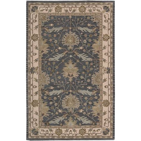 Oasis Rug by Nourison Oasis Blue 3 Ft 6 In X 5 Ft 6 In Area Rug
