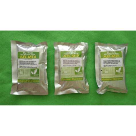 pupuk ab mix nutrisi hidroponik surabaya ekonomis 500 ml
