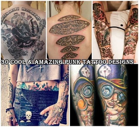 punk rock tattoos 31 best edit templates images on
