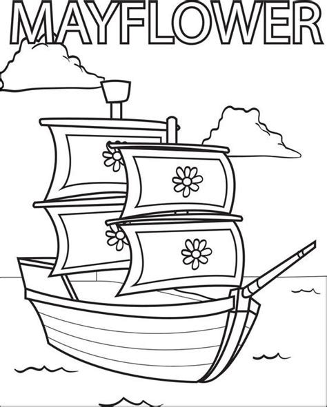 mayflower coloring page 103 best happy mayflower day images on