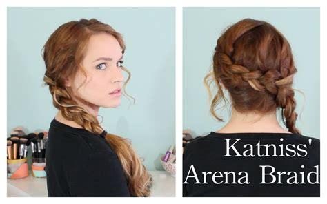 hunger games katniss arena braid youtube