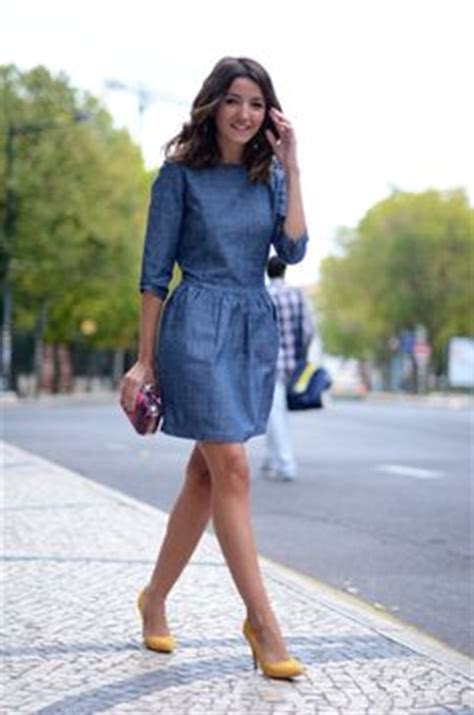blue jean dress with boots 1000 images about ropa de mezclilla on denim