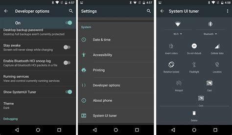 system ui android android m system ui tuner rewrite techrewrite tech