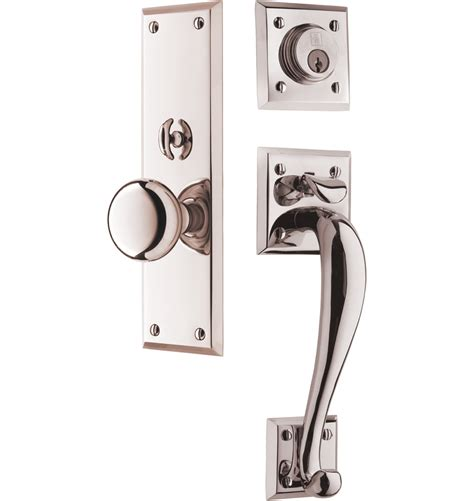 Front Door Handle Set Coleman Classic Knob Exterior Door Set Rejuvenation