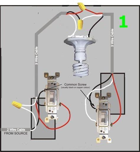 diagram 3 ceiling fan light switch electrical diy 1 sw