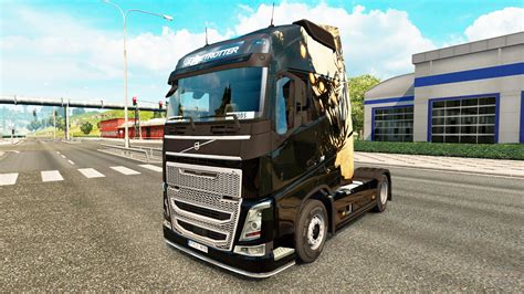 volvo light trucks dying light skin for volvo truck for truck simulator 2
