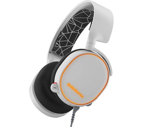 Steelseries Headset Arctis 7 White steelseries arctis 5 7 1 gaming headset white deals pc