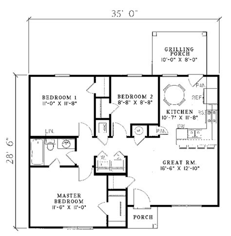 Small Ranch Floor Plans High Resolution Small Ranch House Plans 11 Small Ranch House Floor Plans Smalltowndjs