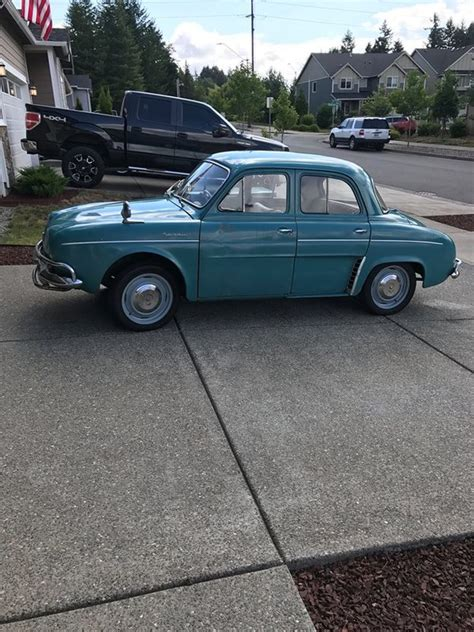 1960 renault dauphine 1960 renault dauphine for sale in olympia washington