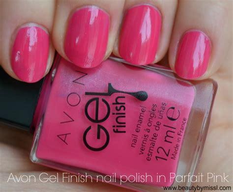 Ega Top Pink T3009 2 avon gel finish nail in parfait pink by miss l
