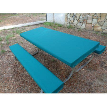 vinyl picnic table and bench covers 25 unique picnic table covers ideas on picnic