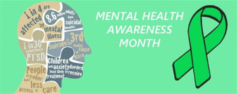 mental health awareness month color happy mental health awareness month it s time to