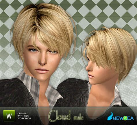 download hairstyles for sims 2 newsea sims2 hair yu057m cloud