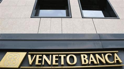 Crisi Veneto Banca casoli sulla crisi di veneto banca nessuno parla