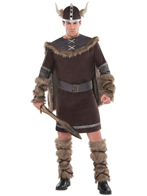 warrior boats clothing adults deluxe barbarian viking costume mens warrior fancy