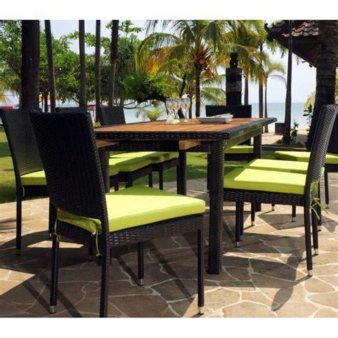 dactyl bureau bourges table et chaise de jardin en resine tressee table et
