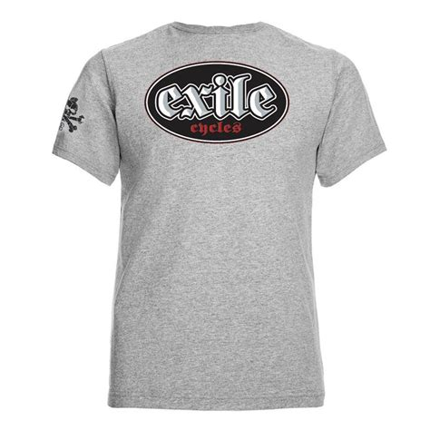 Audioslave Out Of Exile T Shirt Size M official t shirt exile cycles custom motorcycle chopper oval grey all sizes
