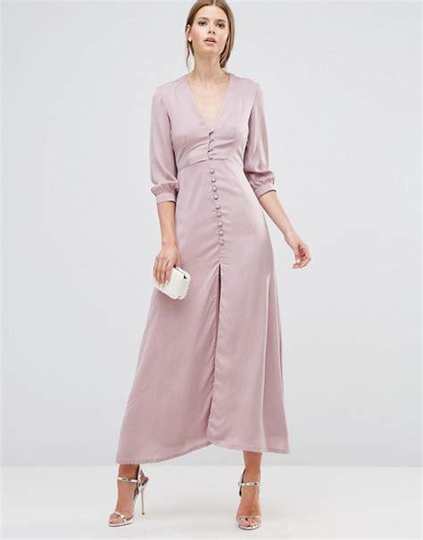 Goldie Button Dress Maxi Katun oh my oh my button maxi dress