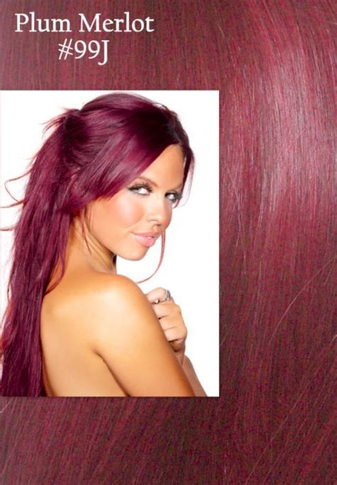 plum hair color plum merlot hair color i want like this color highlights